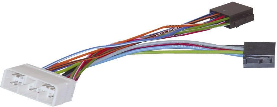 ISO adaptérový kábel pre autorádio AIV vhodné pre autá Chevrolet, Daewoo, Ssangyong