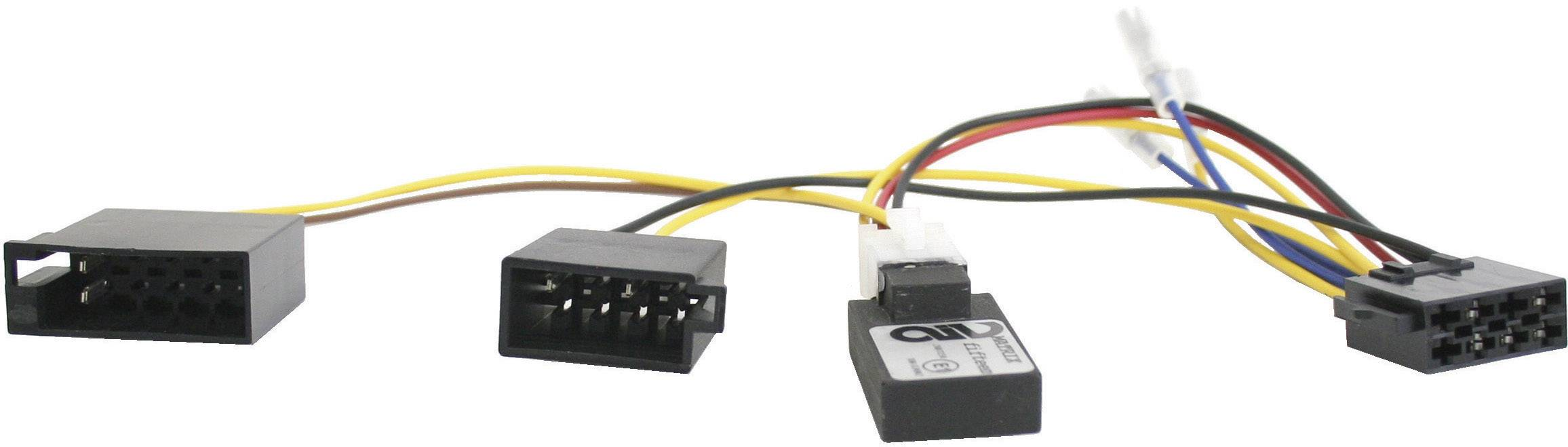 ISO adaptér pro modely Mercedes C, CLK od 06.04, E (211) s Audio 10 CanBus