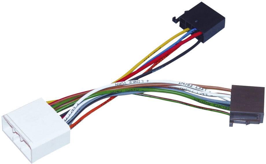ISO adaptérový kábel pre autorádio AIV vhodné pre autá Subaru