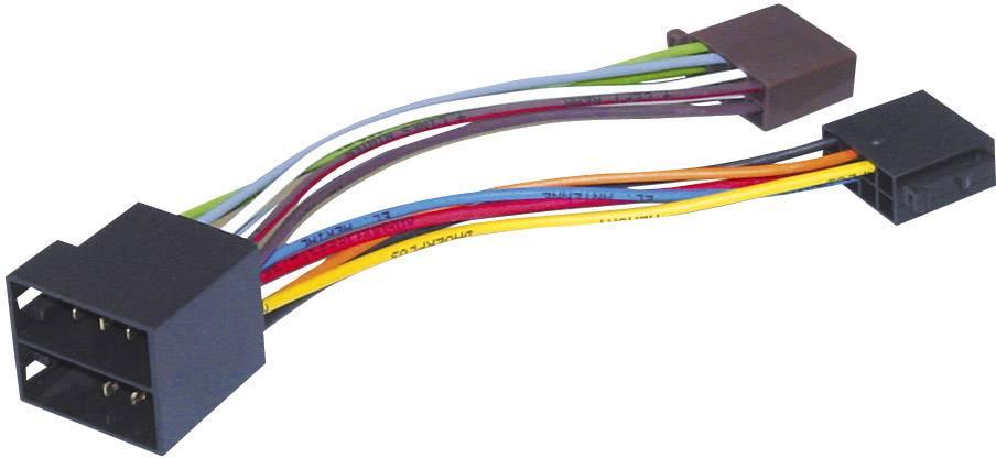 ISO adaptérový kábel pre autorádio AIV vhodné pre autá Opel