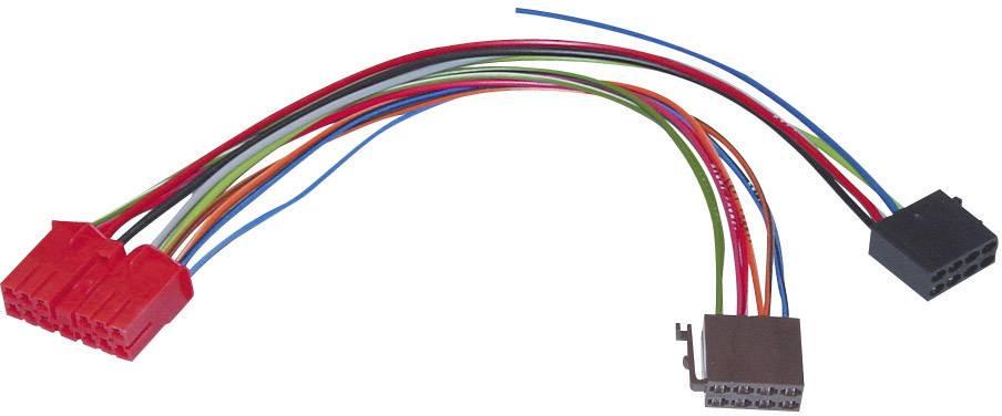 ISO adaptérový kábel pre autorádio AIV vhodné pre autá Renault