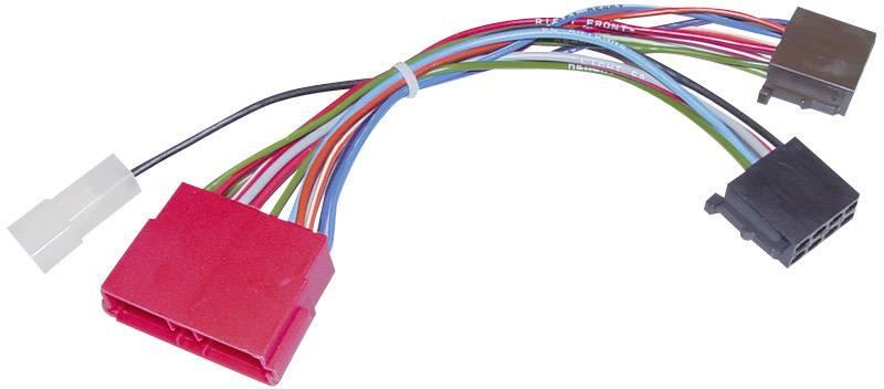ISO adaptérový kábel pre autorádio AIV vhodné pre autá Jeep