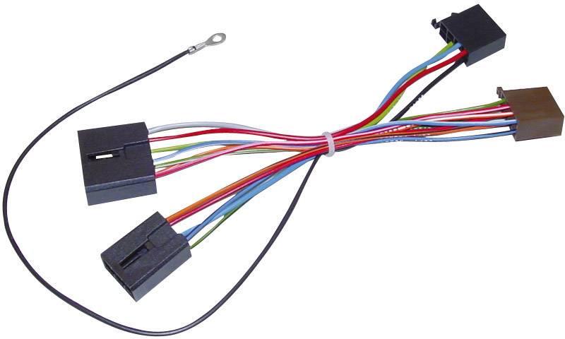 ISO adaptérový kábel pre autorádio AIV vhodné pre autá Mitsubishi
