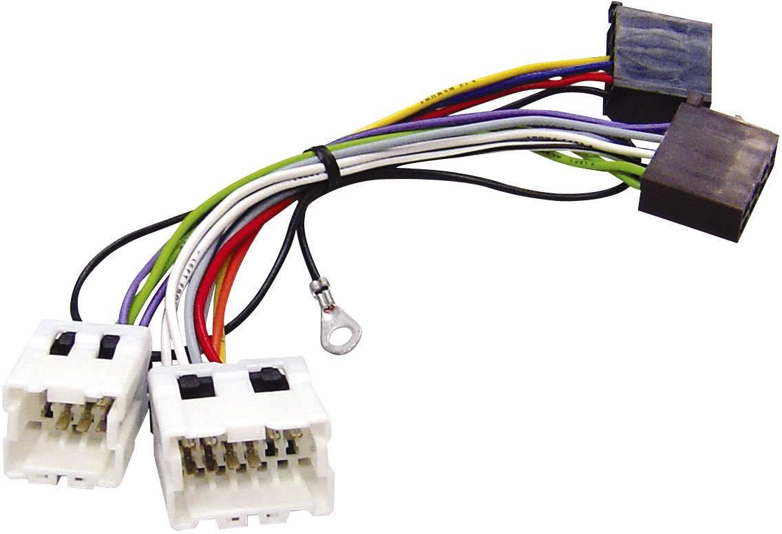 ISO adaptérový kábel pre autorádio AIV vhodné pre autá Nissan