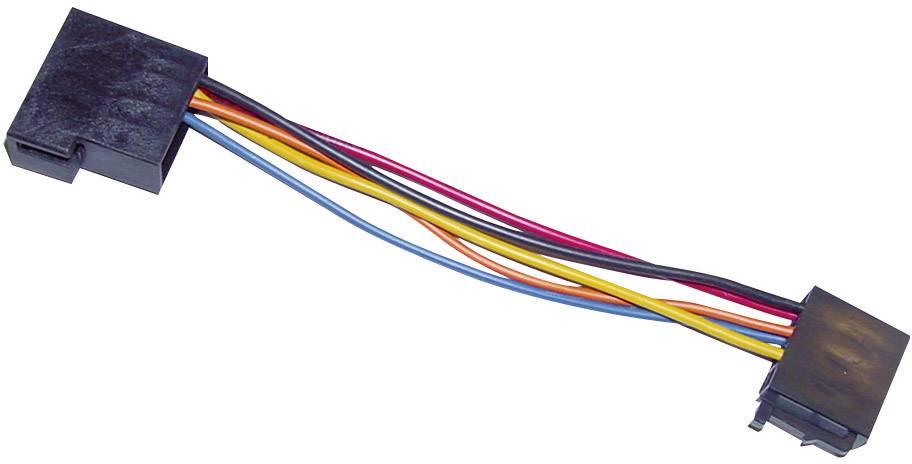 ISO adaptérový kábel pre autorádio AIV vhodné pre autá Audi, Seat, Skoda, Volkswagen
