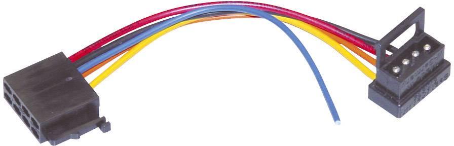 ISO adaptérový kábel pre autorádio AIV vhodné pre autá Mercedes Benz