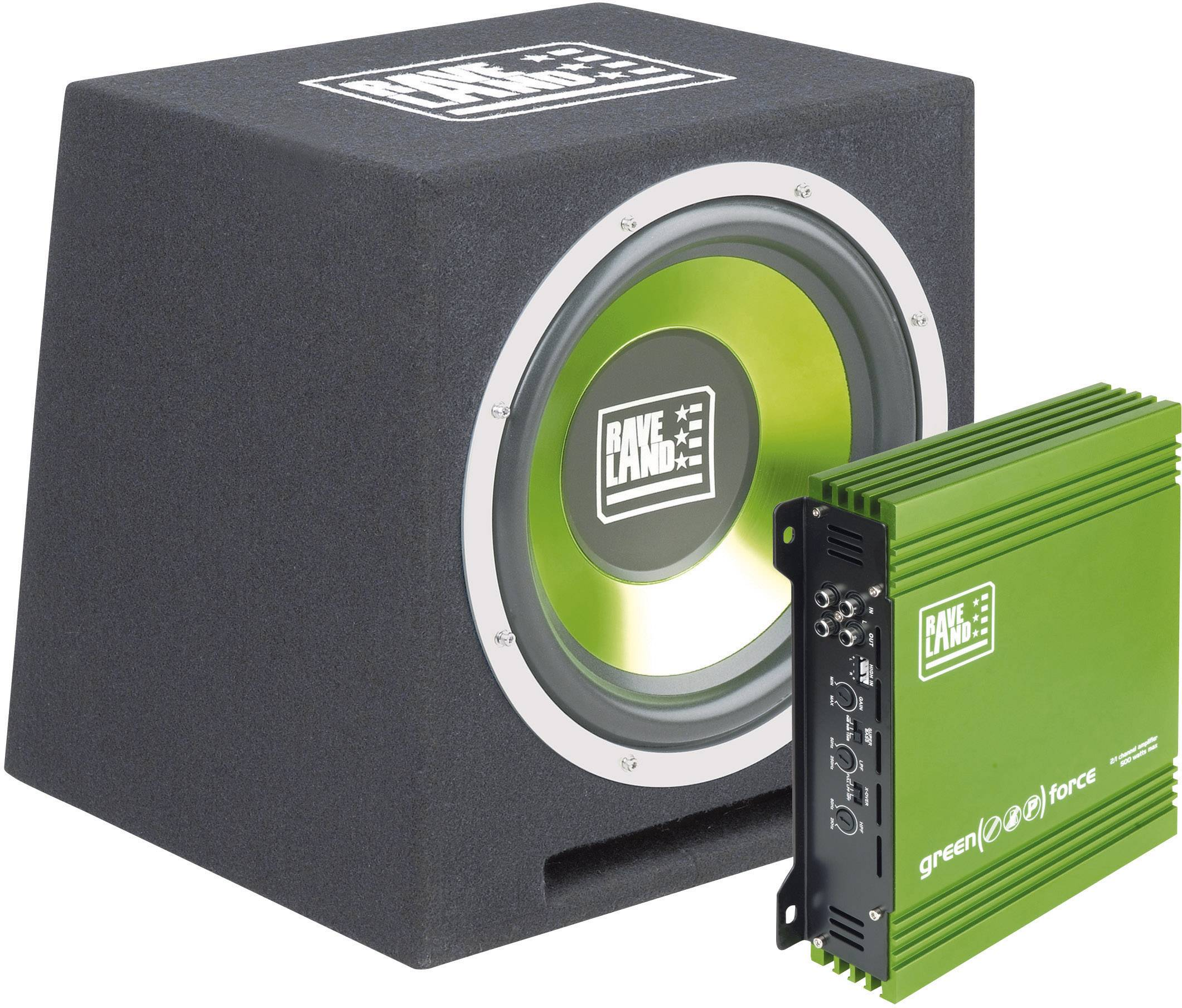 Hi-Fi súprava do auta Raveland Green Force I, 2 x 250 W