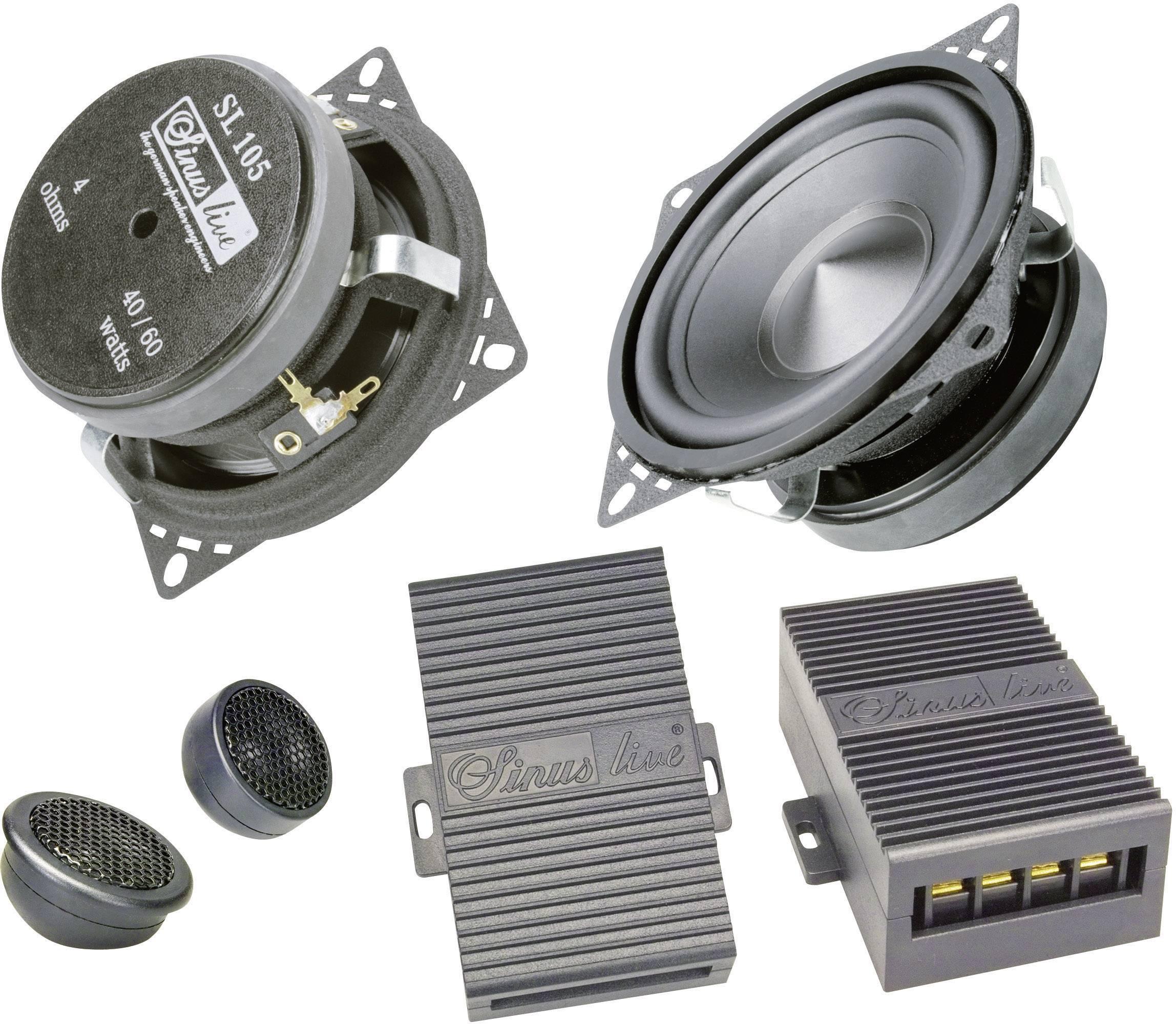 Komponentní autoreproduktor SinusLive SL-105, 100 W