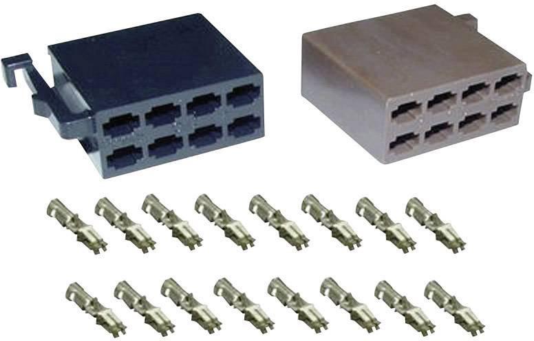 ISO zástrčky reproduktoru a napájení + 16 kontaktů