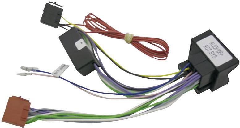 ISO adaptér pro model Audi A3, A4, A6, A8 od 2007, aktivní systém
