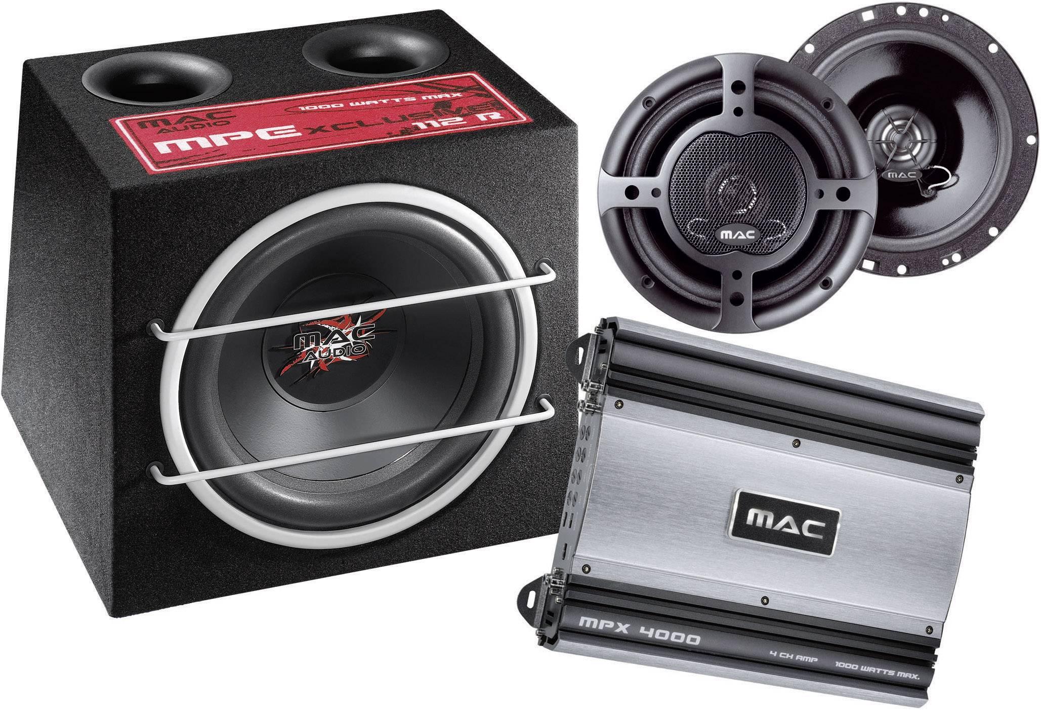 Hi-Fi súprava do auta Mac Audio Xtreme 4000.2, 4 x 250 W
