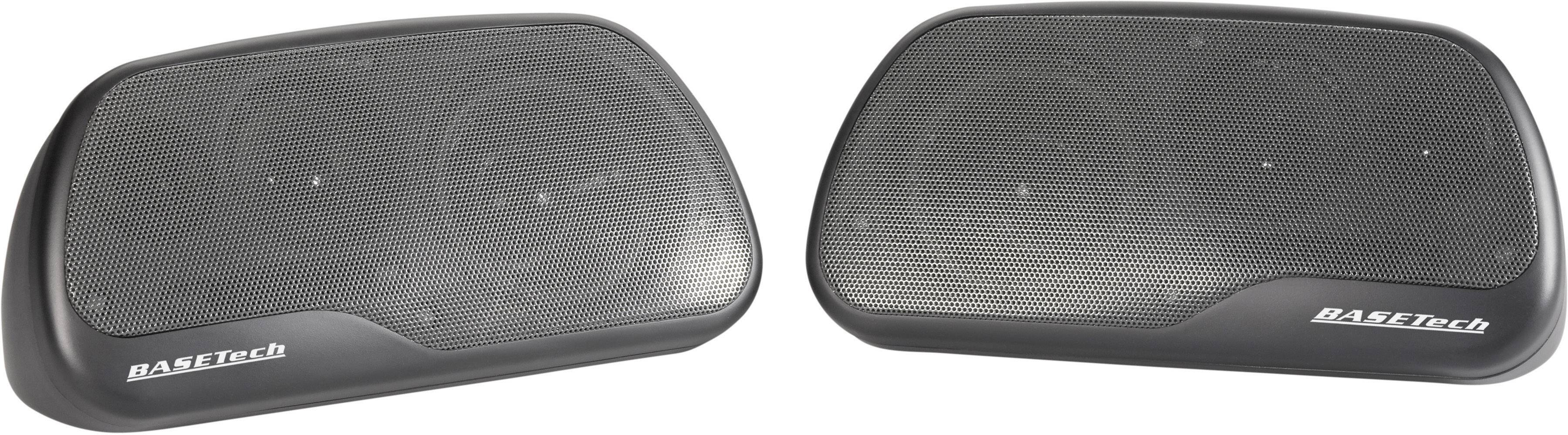 3cestný triaxiální reproduktor Basetech CPS-890, 120 W, 1 pár