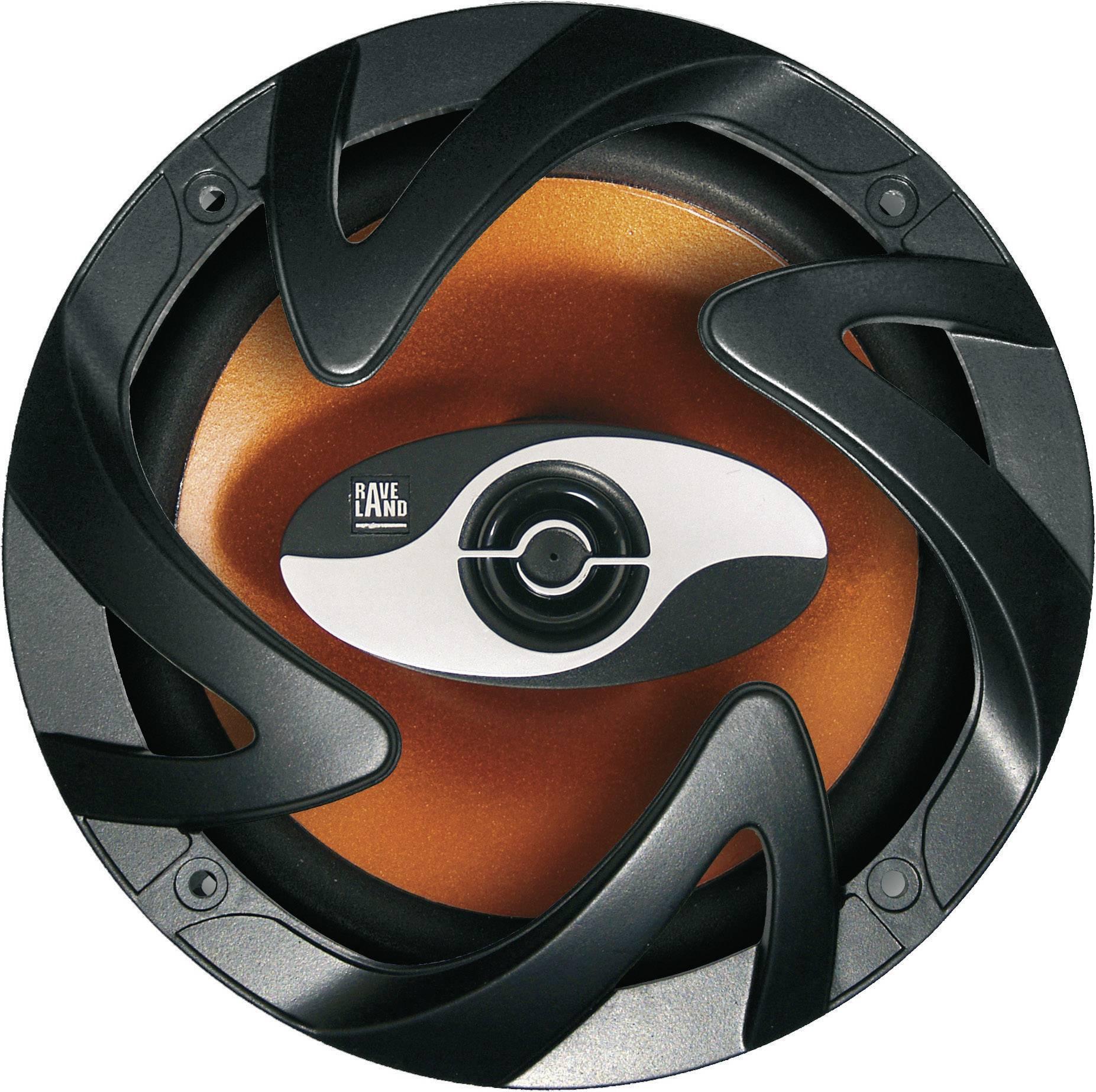 Hi-Fi súprava do auta Raveland XAB-5000 MKII Orange Power, 4 x 300 W