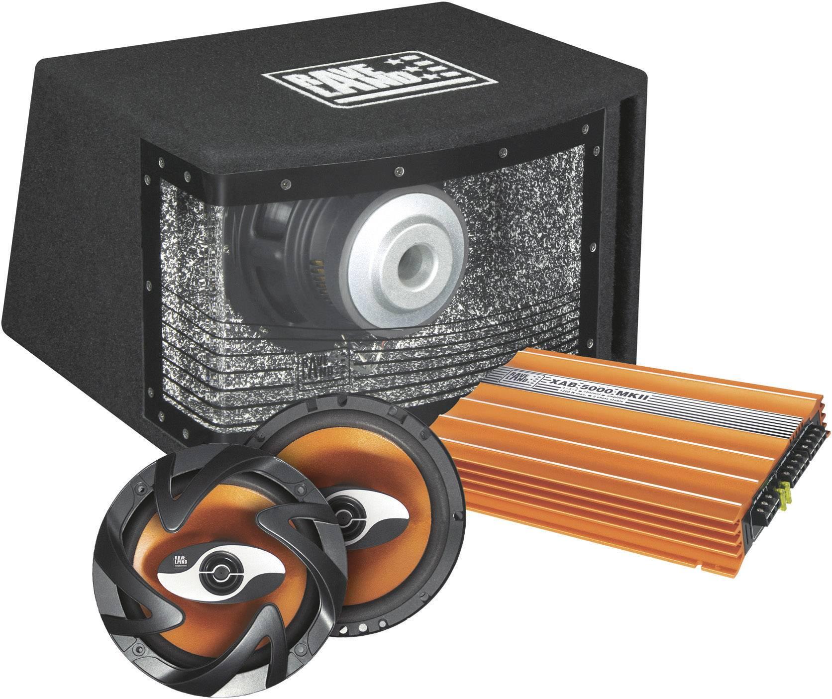 Hi-Fi sada do auta Raveland XAB-5000 MKII Orange Power, 4 x 300 W
