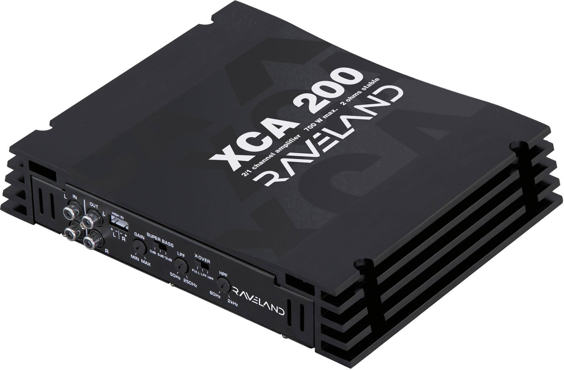 Koncový zesilovač Raveland XCA -200, 2x 350 W