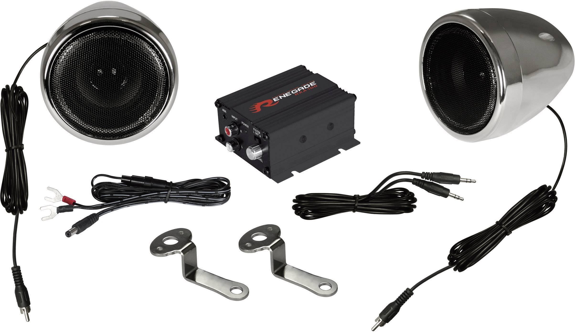 Sada 2cestných reproduktorov Renegade RXA100C, 100 W