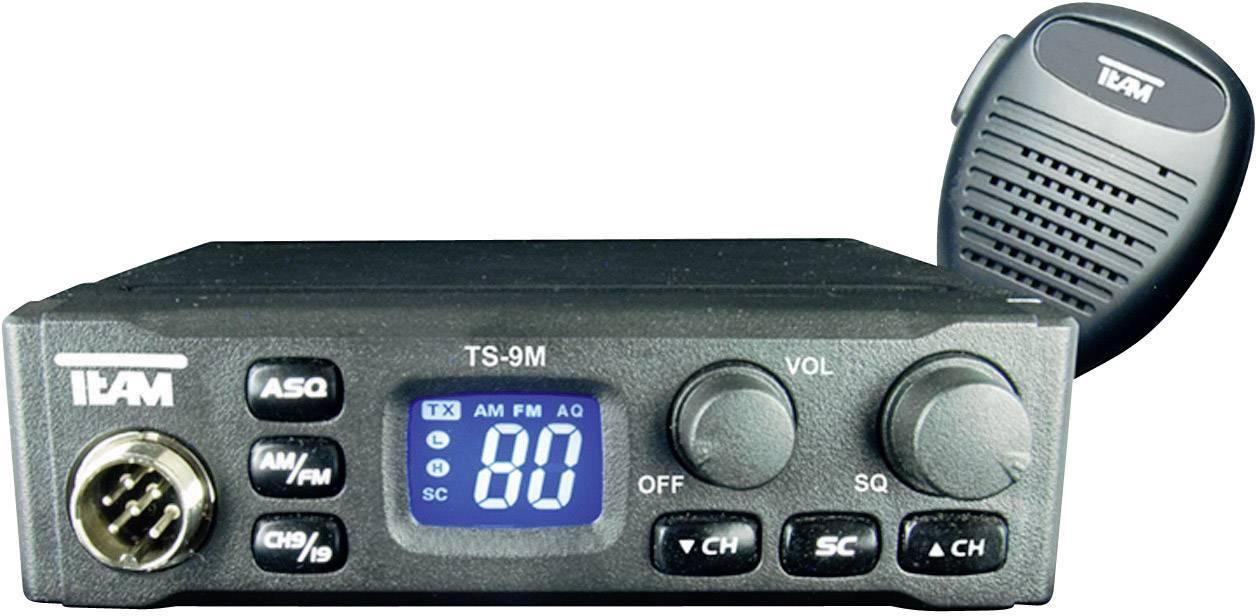 CB rádiostanica/vysielačka Team Electronic TS-9M