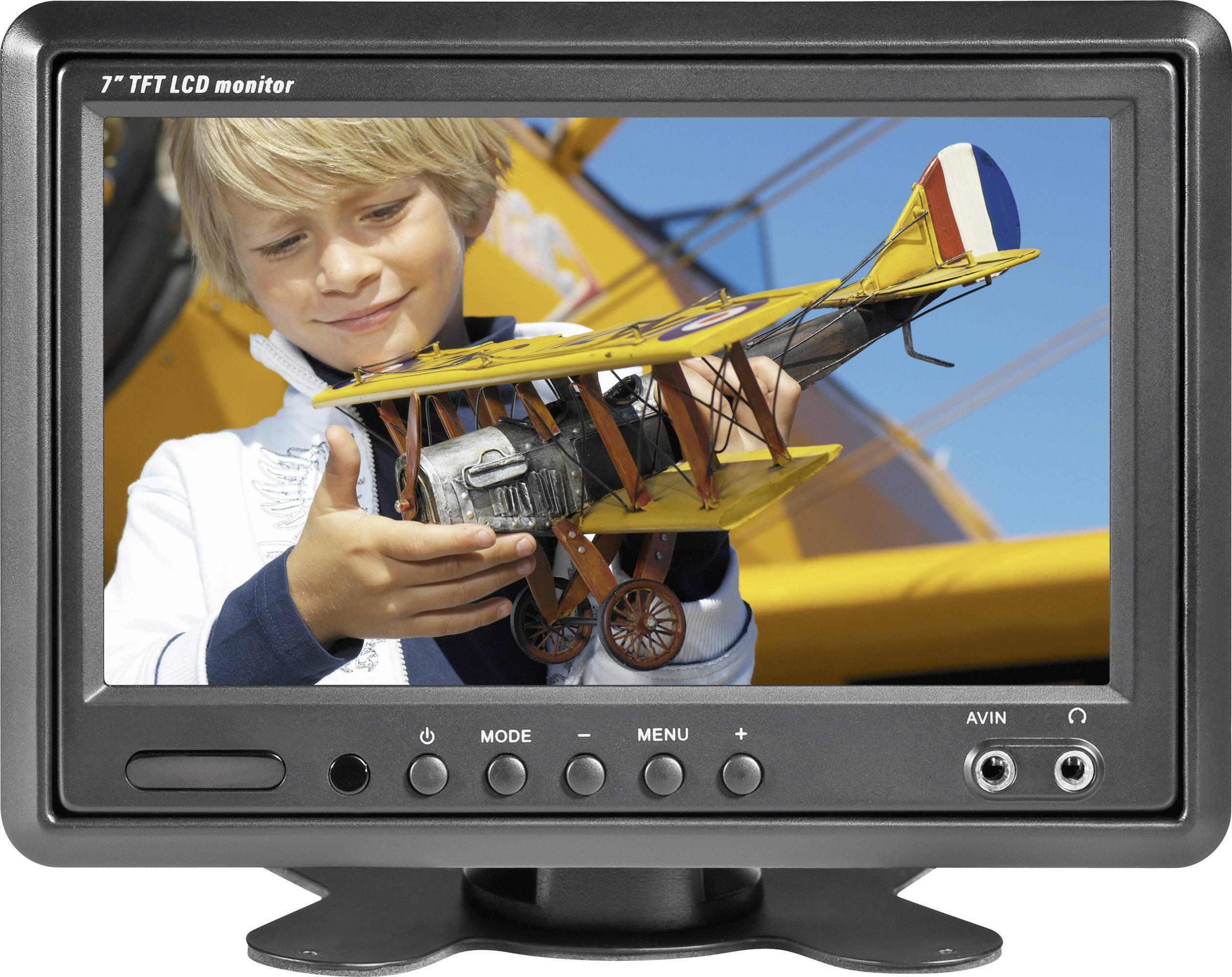 "LCD monitor do auta Renkforce T-701B, 7"""