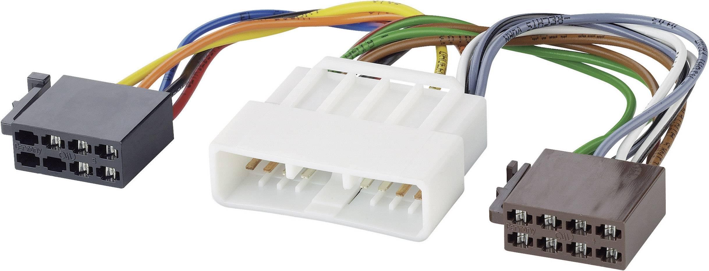 ISO adaptérový kábel pre autorádio AIV 41C843 vhodné pre autá Honda