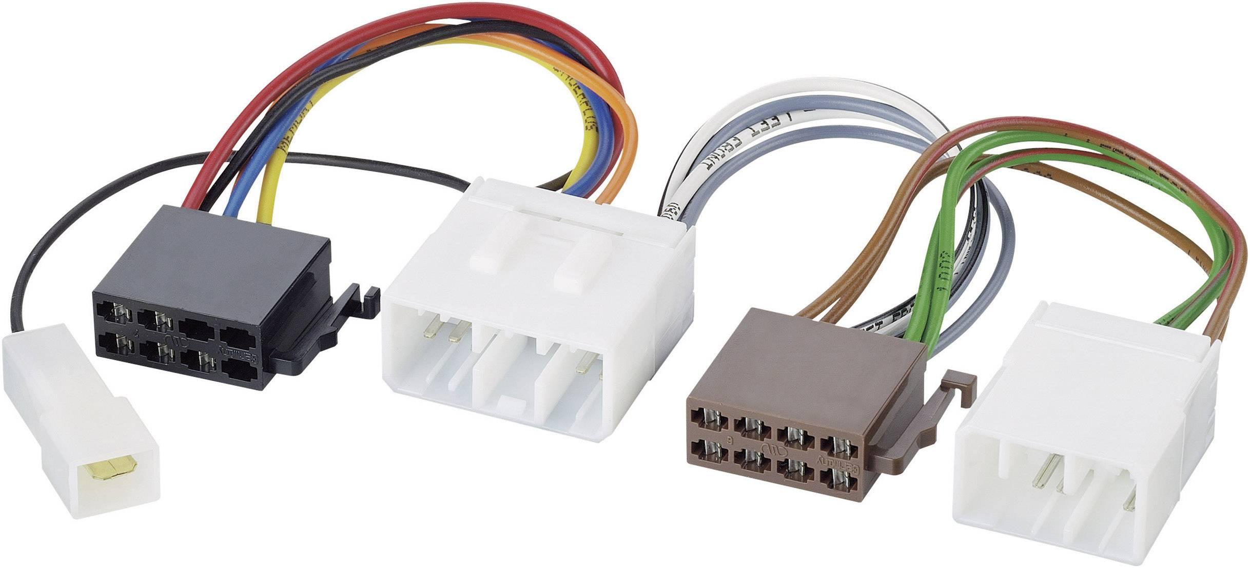 ISO adaptérový kábel pre autorádio AIV 41C927 vhodné pre autá Mazda