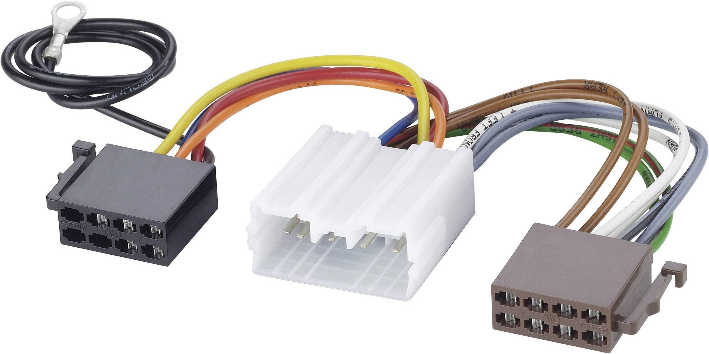 ISO adaptérový kábel pre autorádio AIV 41C975 vhodné pre autá Mitsubishi