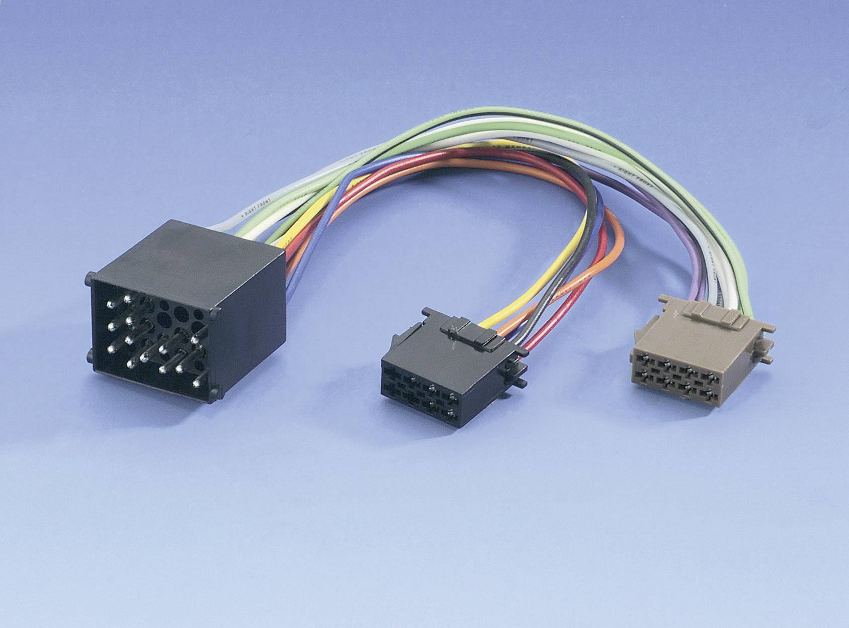 ISO adaptérový kábel pre autorádio AIV 41C956 vhodné pre autá BMW