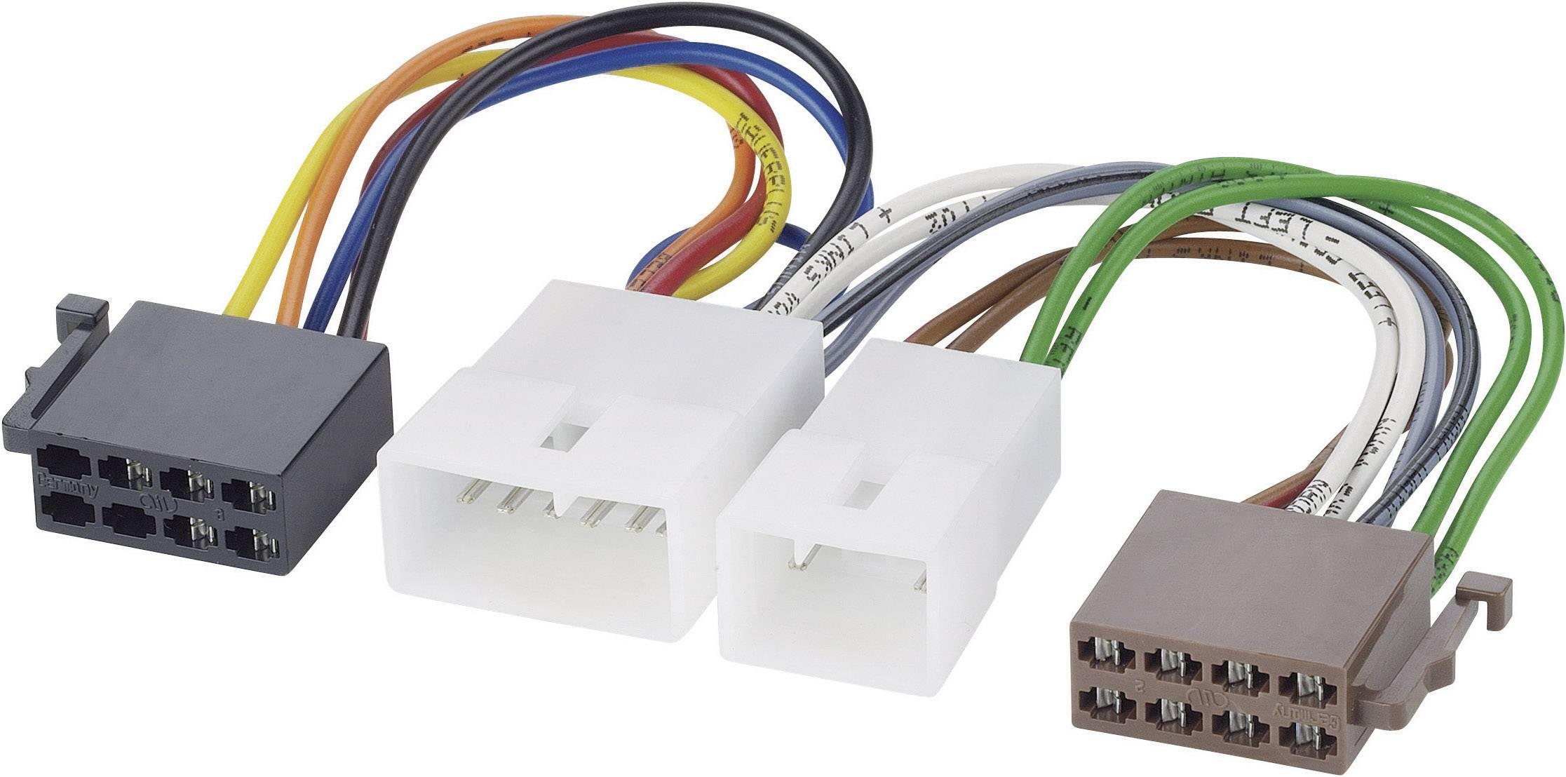 ISO adaptérový kábel pre autorádio AIV 41C817 vhodné pre autá Daihatsu, Lexus, Subaru, Toyota