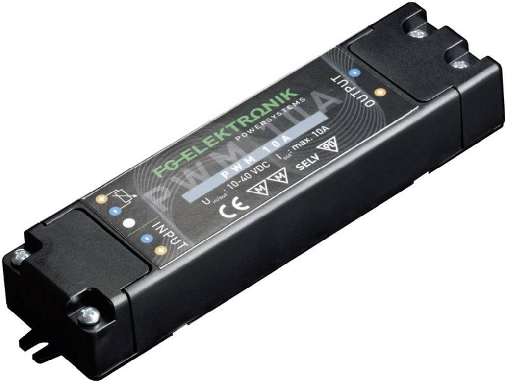 Napájací zdroj pre LED FG Elektronik DCC-PWM 10 EP, 0 - 10 A, 12 - 40 V/DC