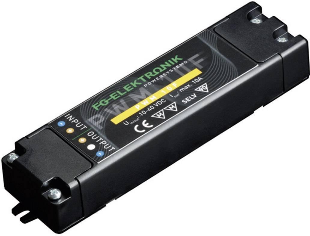 Napájací zdroj pre LED FG Elektronik DCC-PWM 10 RC, 400 W (max), 0 - 10 A, 10 - 40 V/DC