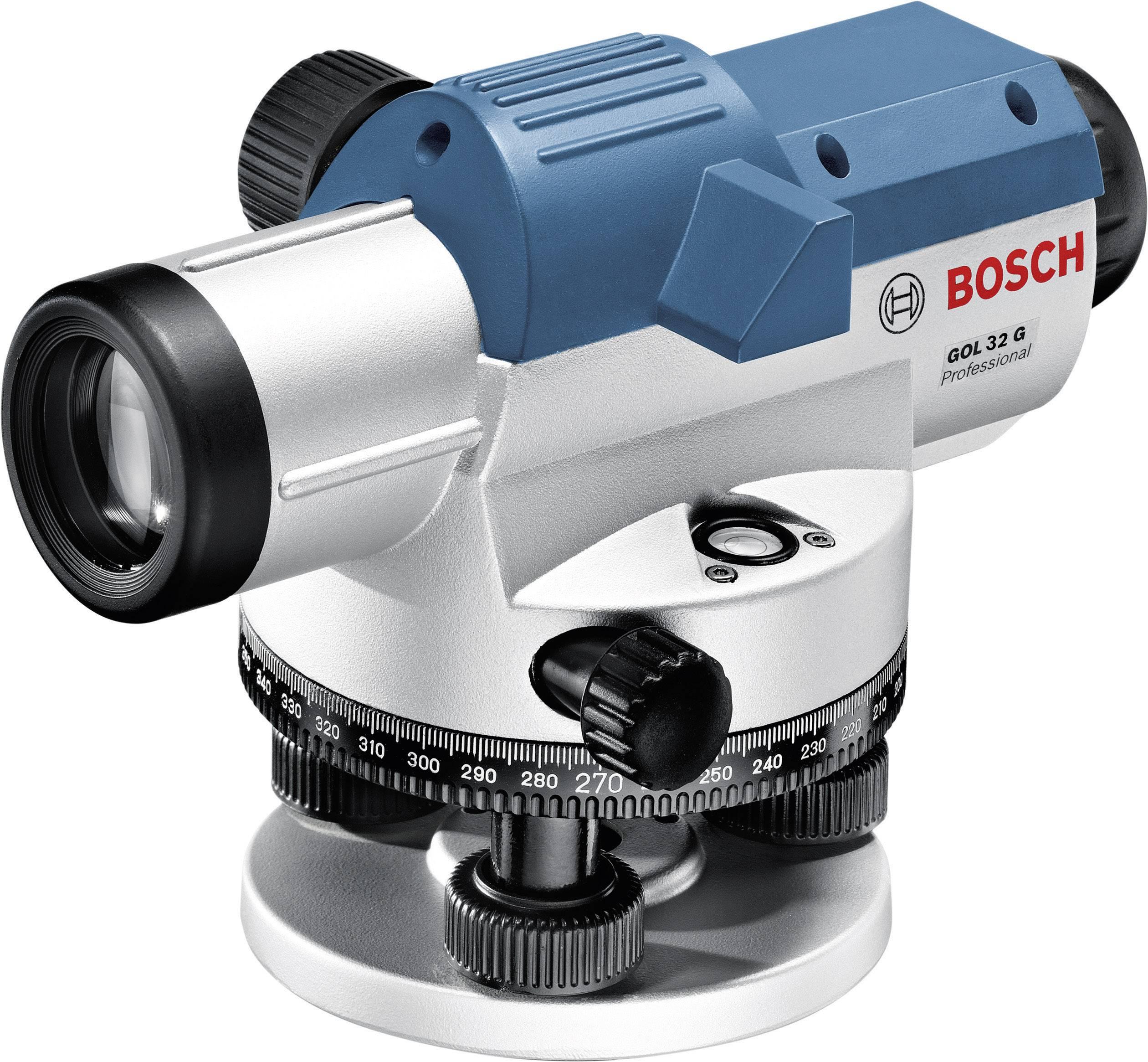 Optický nivelační přístroj Bosch Professional GOL 32 G, dosah (max.): 120 m, optické zvětšení 32 x