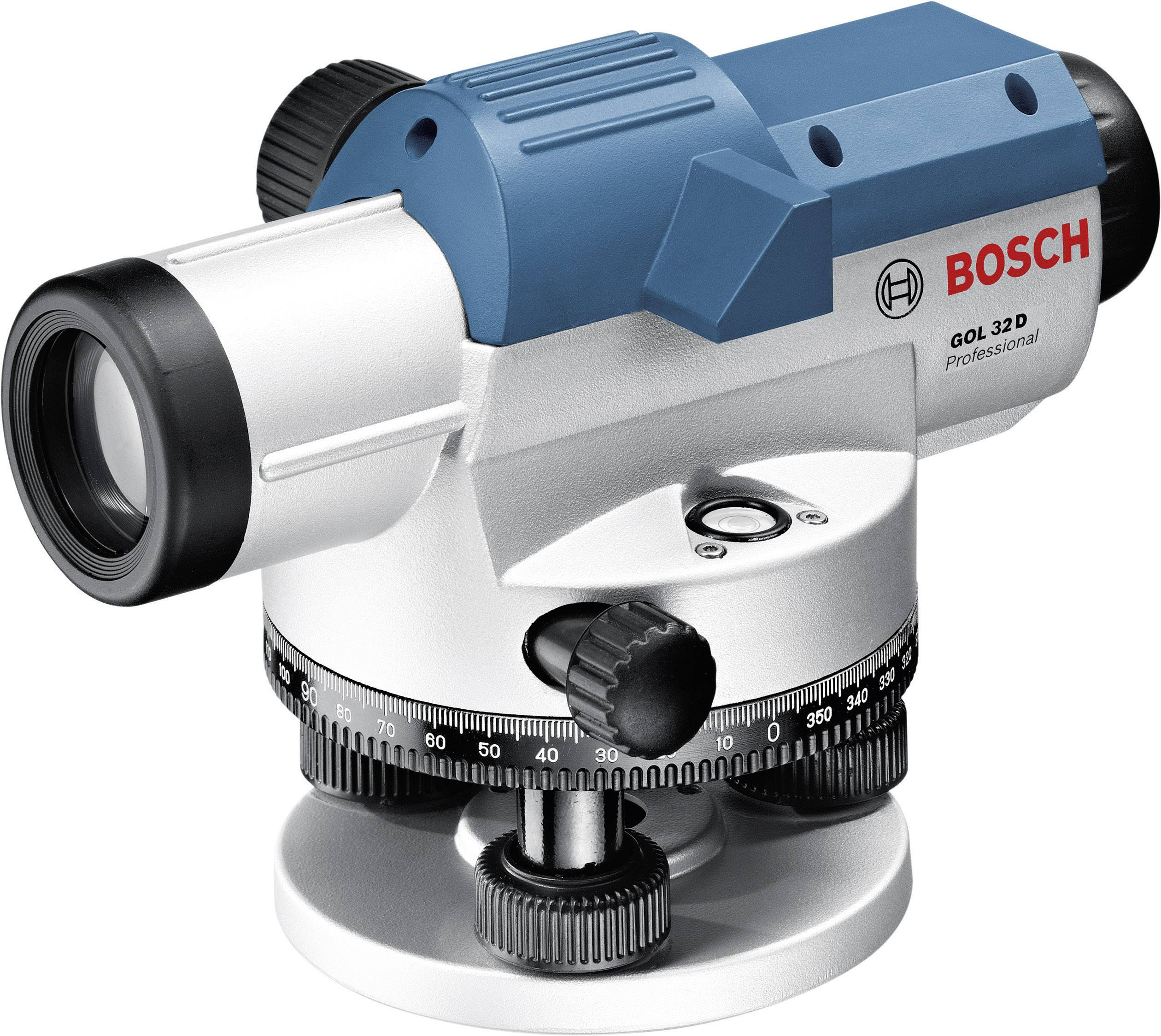 Optický nivelační přístroj Bosch Professional GOL 32 D, dosah (max.): 120 m, optické zvětšení (max.) 32 x