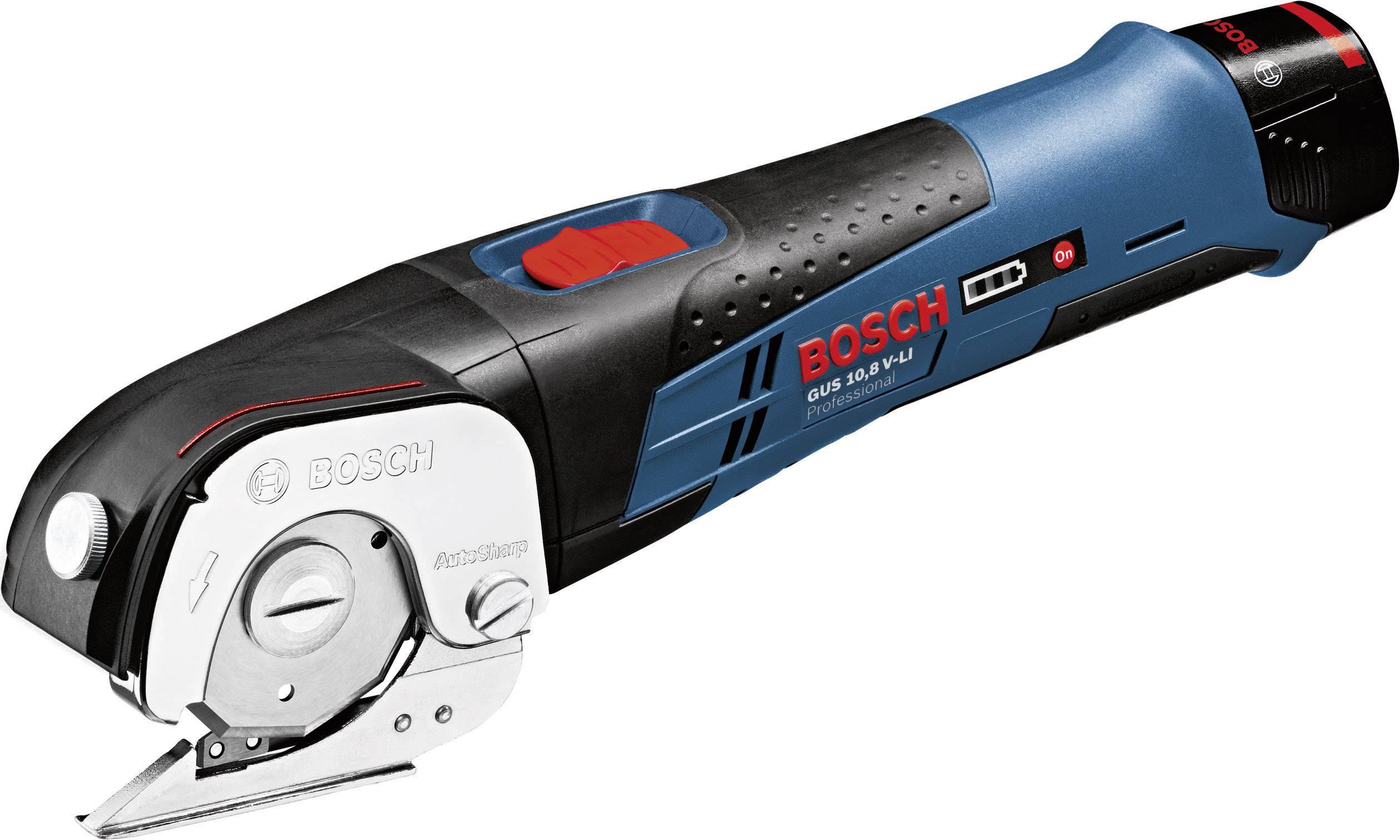 Univerzálne akumulátorové nožnice Bosch Professional GUS 10,8 V-LI
