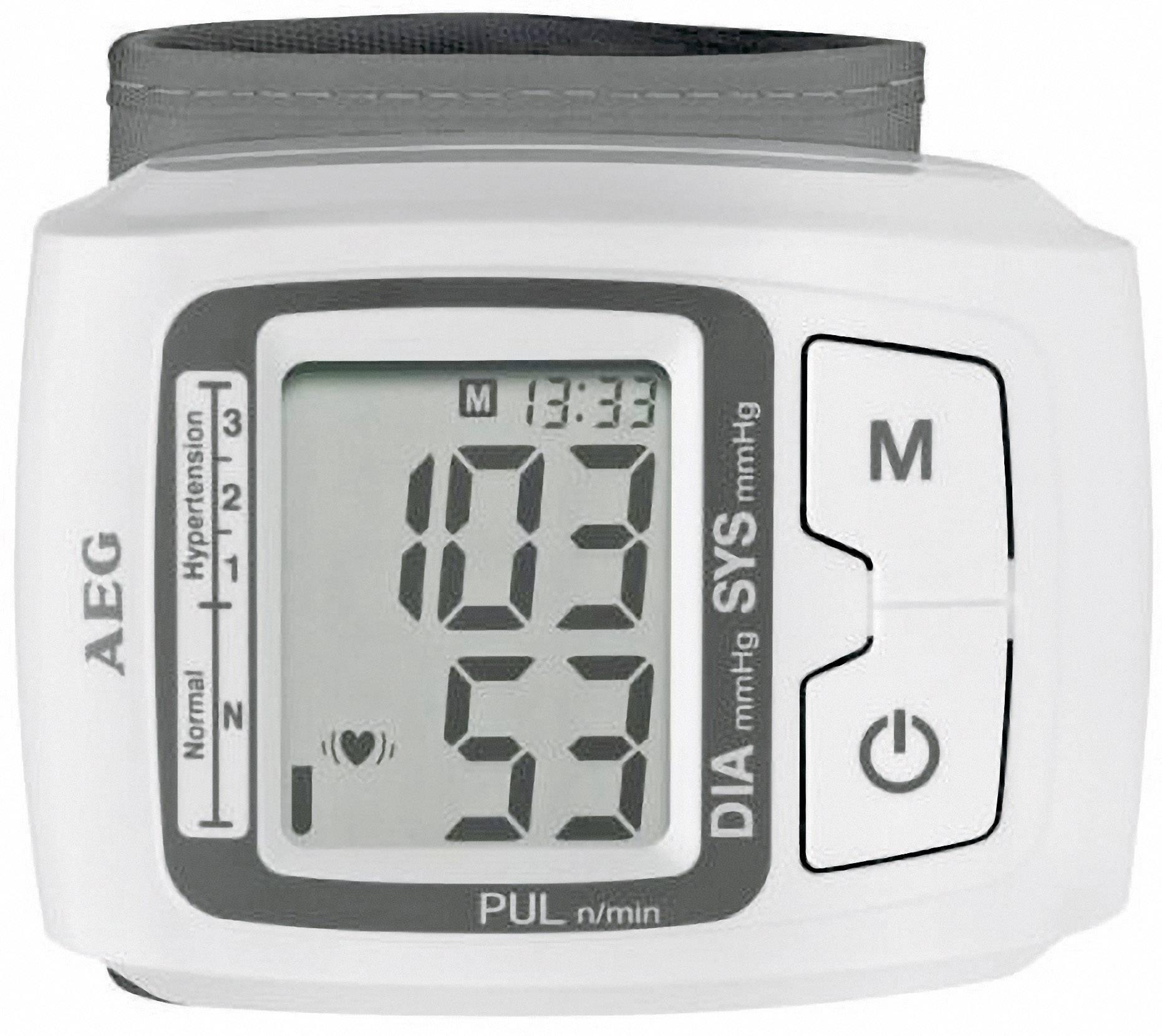 Zdravotnícky tlakomer na zápästie AEG BMG 5610 520610
