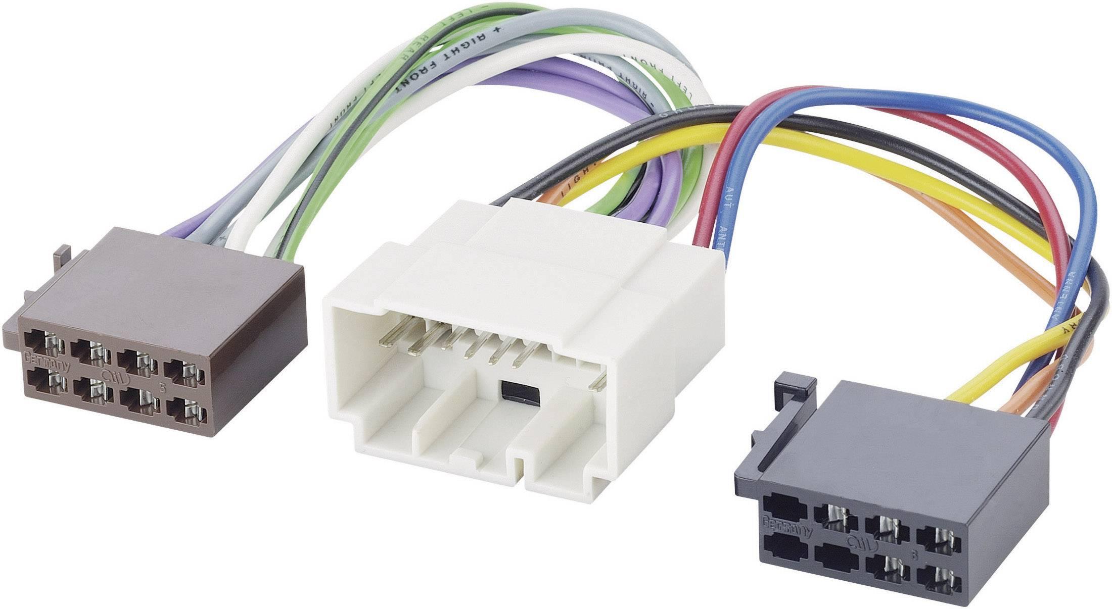 ISO adaptérový kábel pre autorádio AIV 41C993 vhodné pre autá Fiat, Honda, Nissan, Suzuki