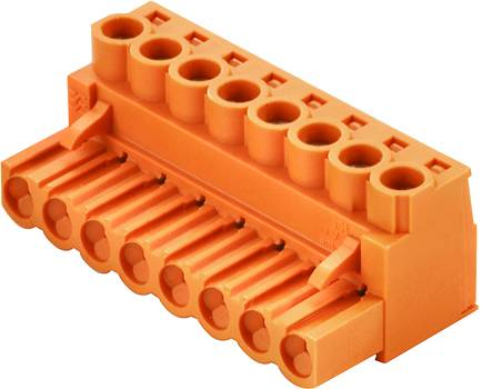 Zásuvkový konektor na kabel Weidmüller BLZP 5.08/10/180 SN OR BX 1943660000, 50.80 mm, pólů 10, rozteč 5.08 mm, 36 ks