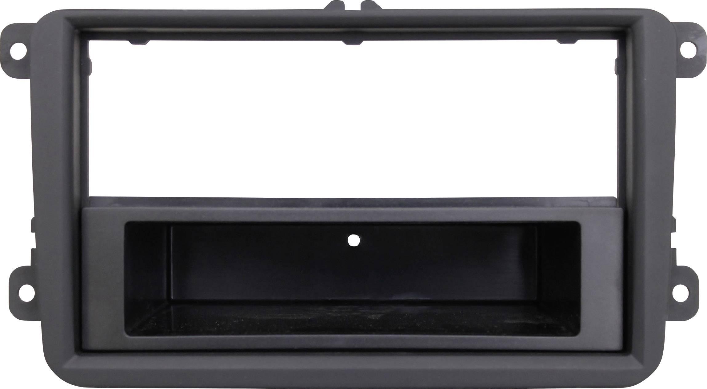 Montážny rámik na autorádio pre Volkswagen Golf V, Volkswagen Touran, AIV 10C621