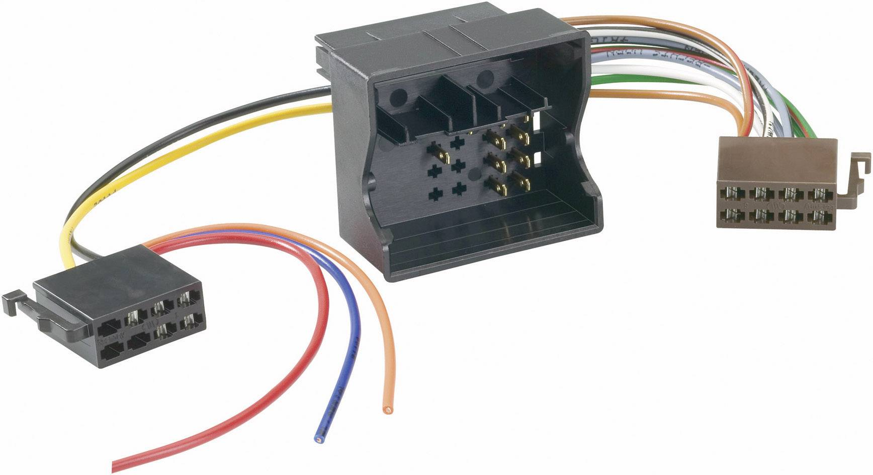AIV ISO Autoradio Adapter - Universal - Strom + 4 Lautsprecher - 0,2 M vhodné pre autá Audi, Opel, Seat, Skoda, Volkswagen