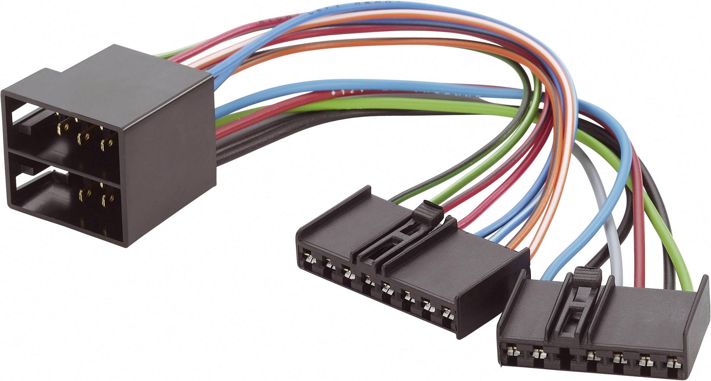 ISO adaptérový kábel pre autorádio AIV 51C978 vhodné pre autá univerzálný