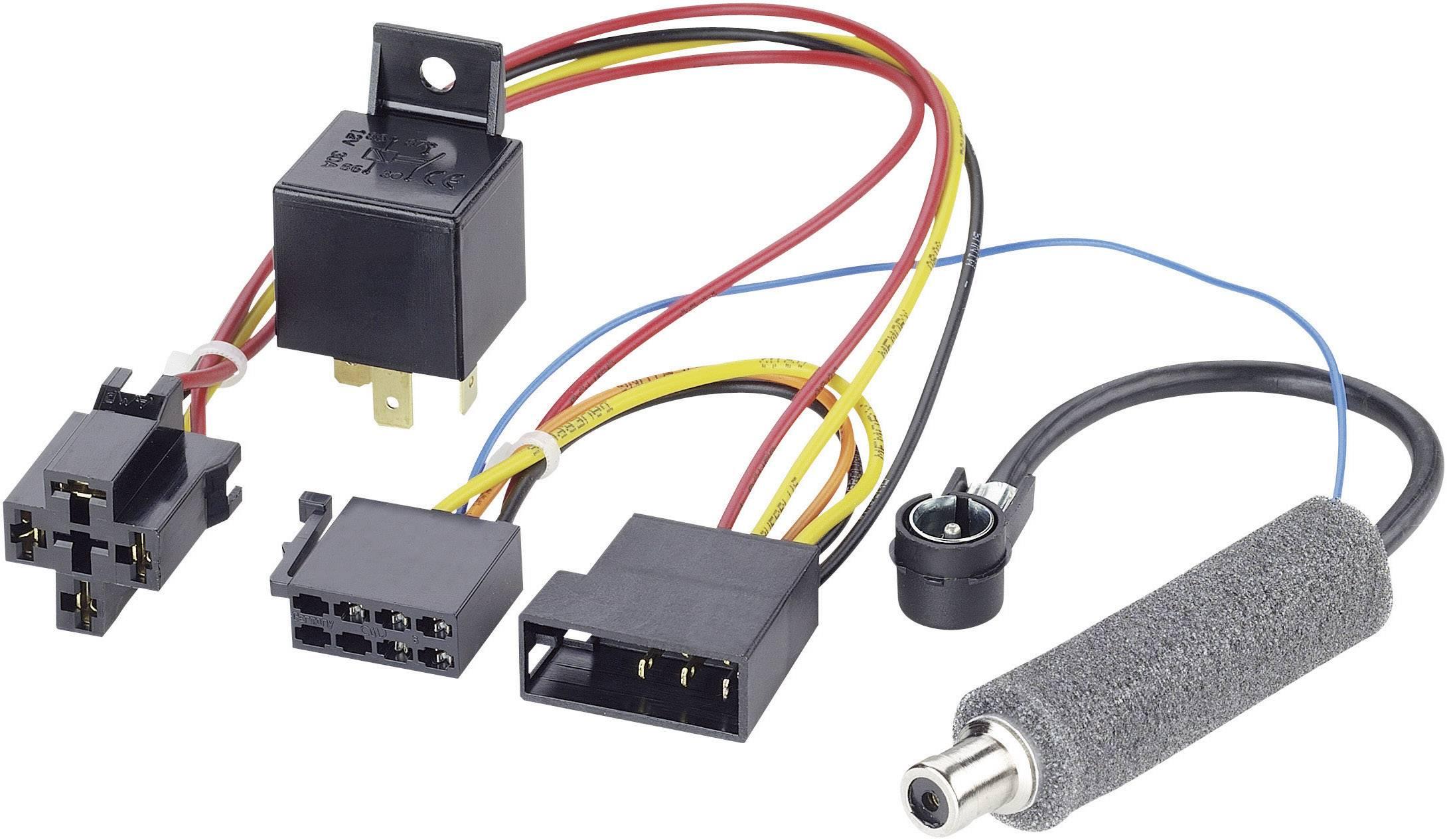ISO adaptérový kábel pre autorádio AIV 41C602 vhodné pre autá Skoda, Volkswagen