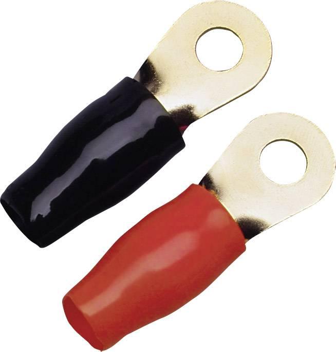 Kulatá kabelová oka, 35 mm, 2 ks