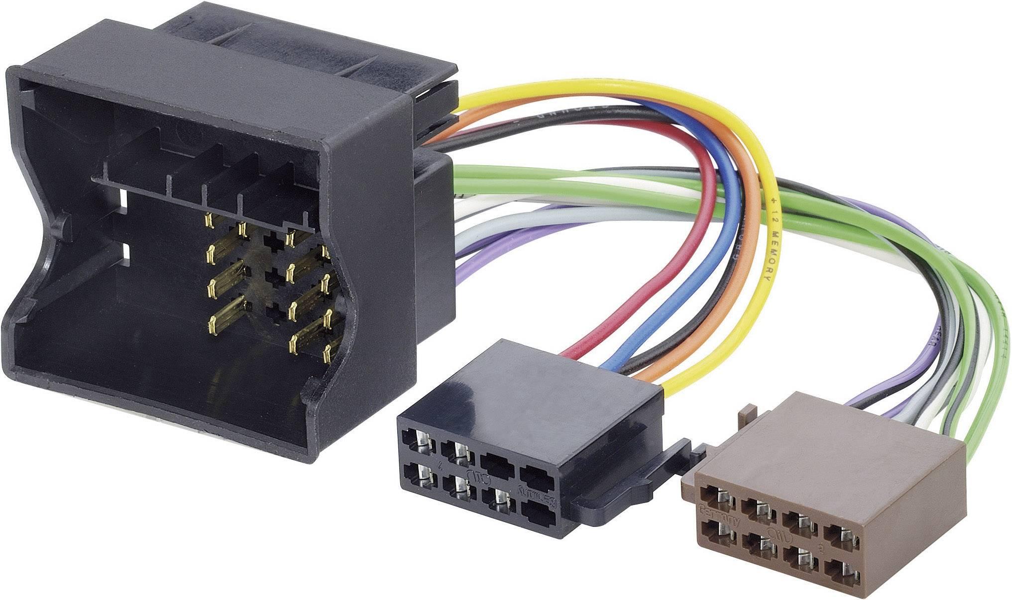 ISO adaptérový kábel pre autorádio AIV 41C629 vhodné pre autá Volkswagen