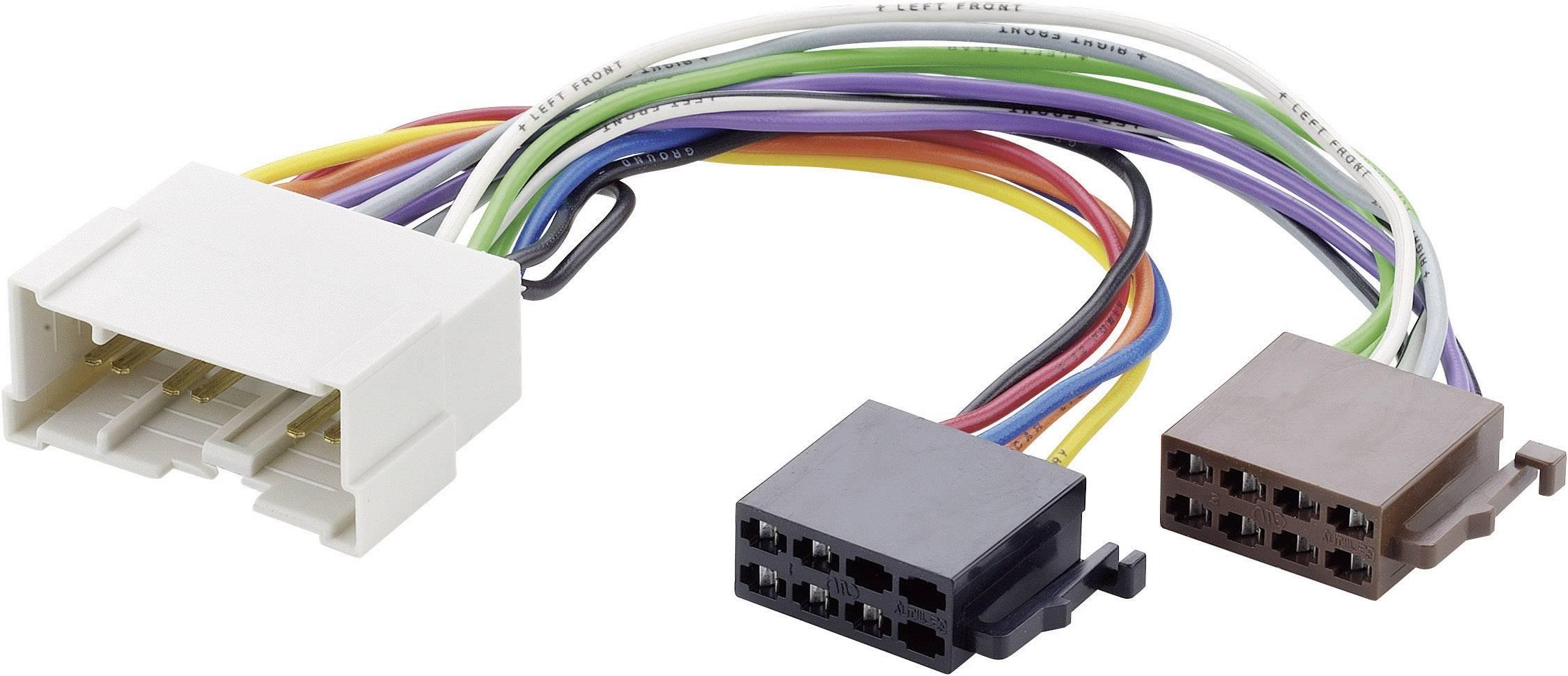 ISO adaptérový kábel pre autorádio AIV 41C992 vhodné pre autá Hyundai, Kia