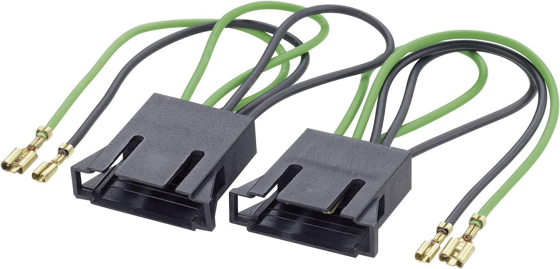ISO adaptérový kábel pre autorádio AIV 51C767 vhodné pre autá Seat, Volkswagen