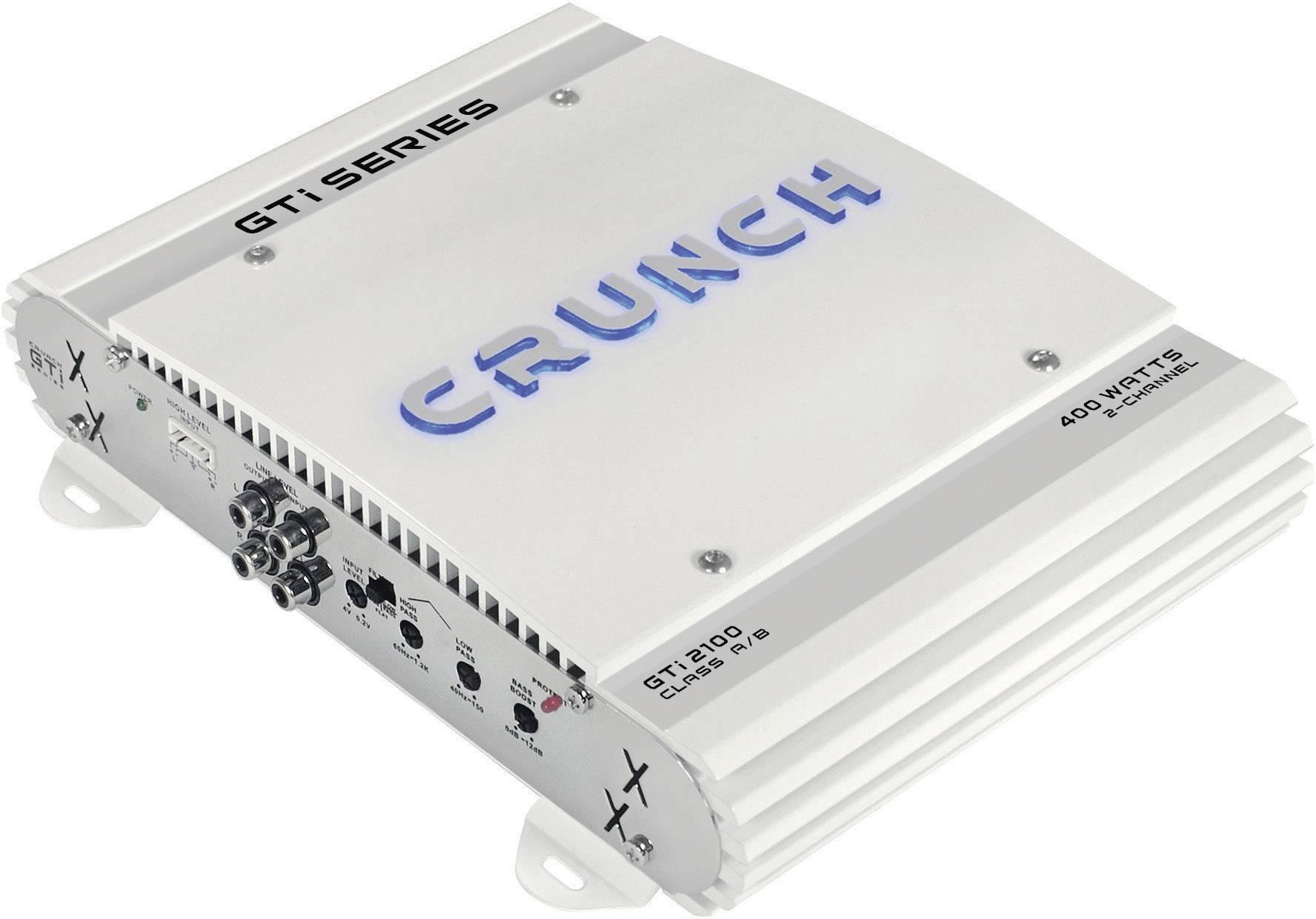 2-kanálový koncový zosilovač Crunch GTI2100 GTI2100, 400 W