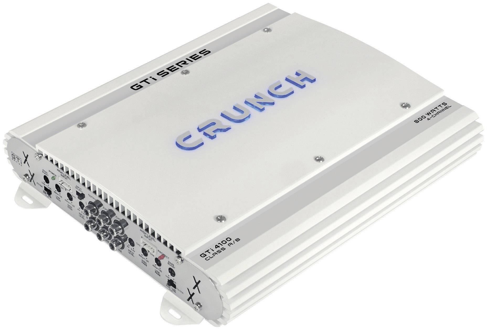 4-kanálový koncový zosilovač Crunch GTI4100 GTI4100, 800 W