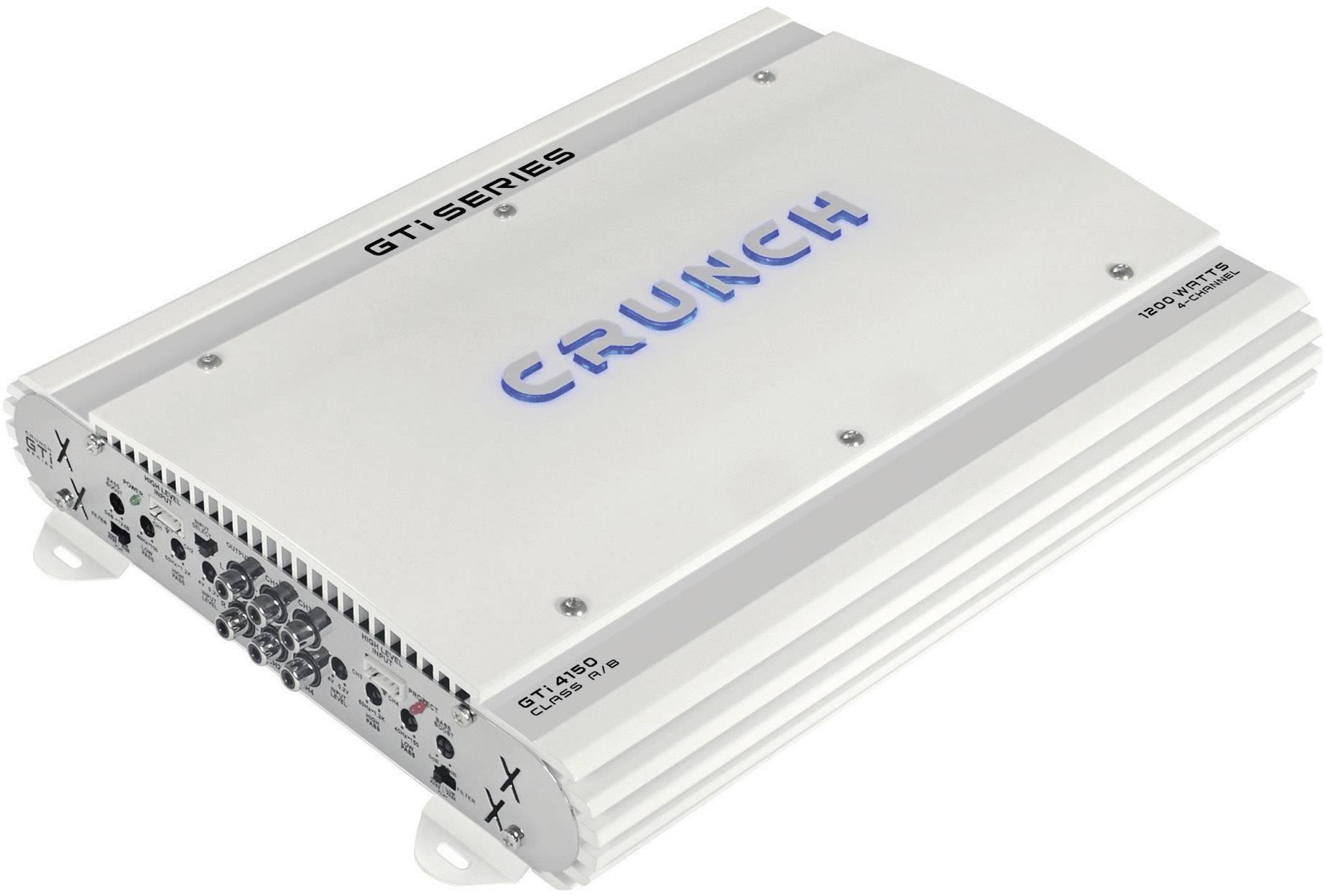 4-kanálový koncový zosilovač Crunch GTI4150 GTI4150, 1200 W