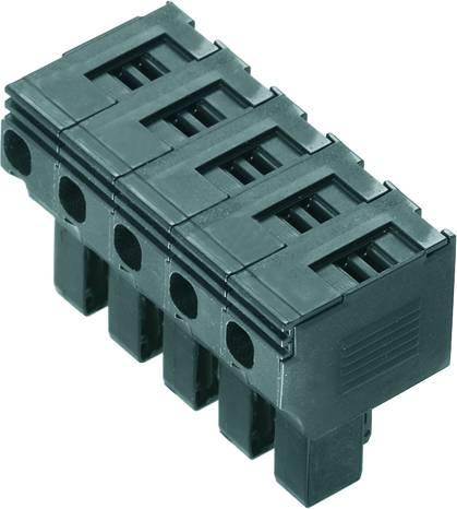 Bezpečnostní konektor Weidmüller PTS 4 pro kabel o rozměru 0.5-4 mm², pólů 5, 10 ks, černá