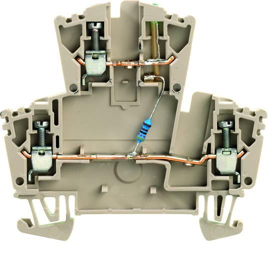 Weidmüller WDK 2.5 LD GR 1R 24VDC, 8010040000, 25 ks