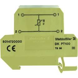 Řadová svorkovnice 10 ks Weidmüller DKT 4/35 PT100 400 V (max)
