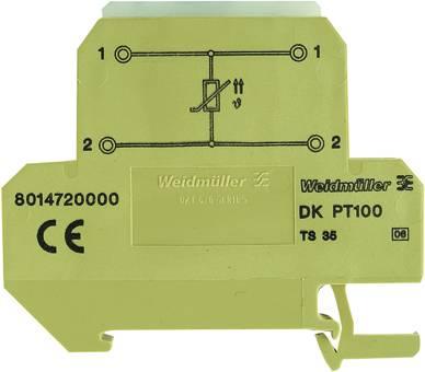 Řadová svorkovnice 10 ks Weidmüller DKT 4/35 PT100